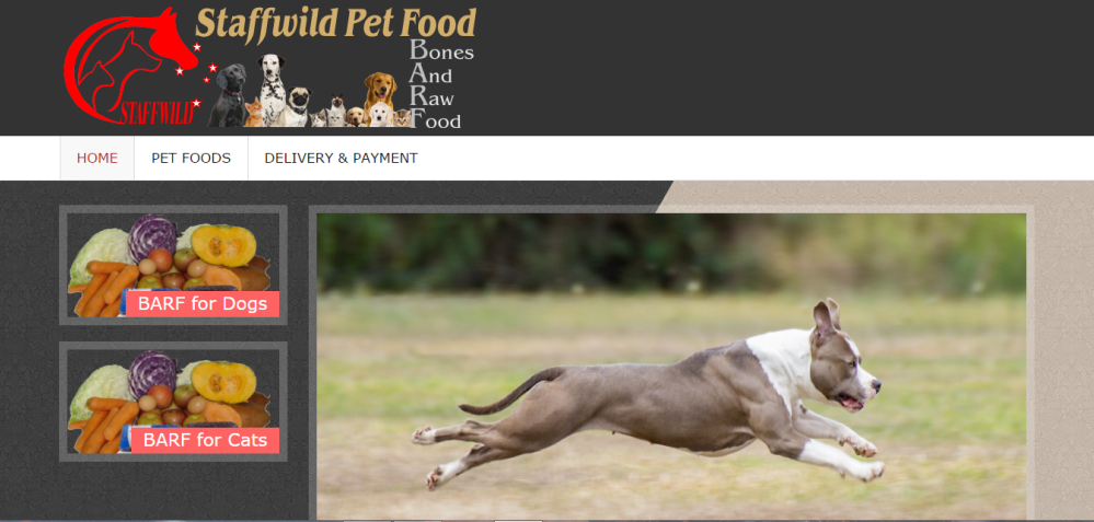 Staffwild Pet Food